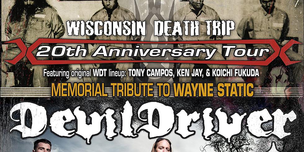 STATIC-X (memorial tribute to Wayne) | DEVILDRIVER | DOPE | WEDNESDAY 13 | RAVEN BLACK