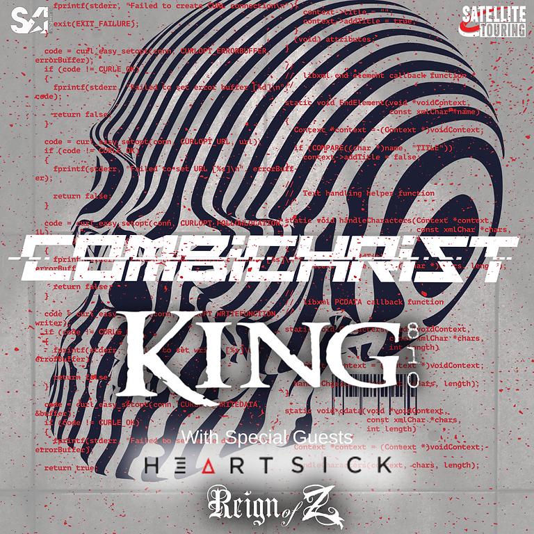COMBICHRIST   KING 810   HEARTSICK   REIGN OF Z