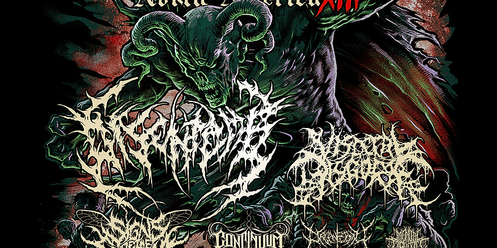 BLOODLETTING NORTH AMERICA TOUR FT. DISENTOMB | VISCERAL DISGORGE | & MORE