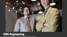 CND Engineering Limited Featured in The Hamilton Spectator