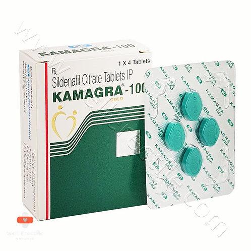 Kamagra Gold 100mg (Sildenafil Citrate)