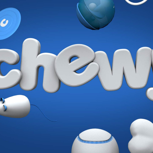 Chewy Logo Sting