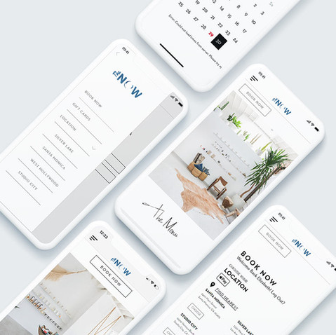 The NOW Booking App