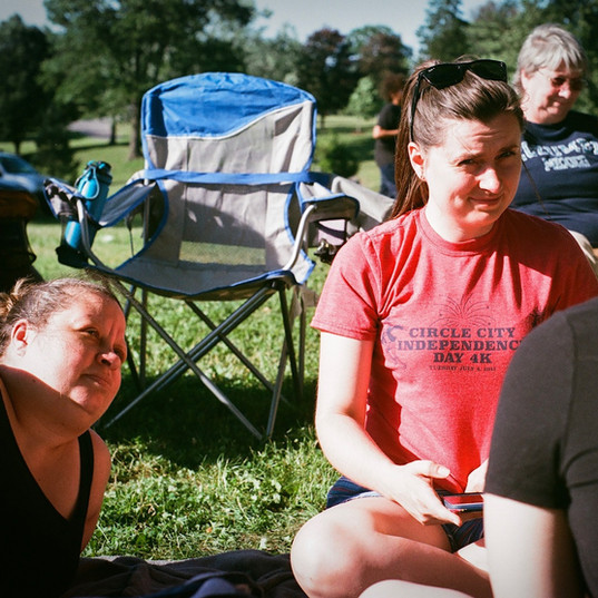Picnic women talking.JPG
