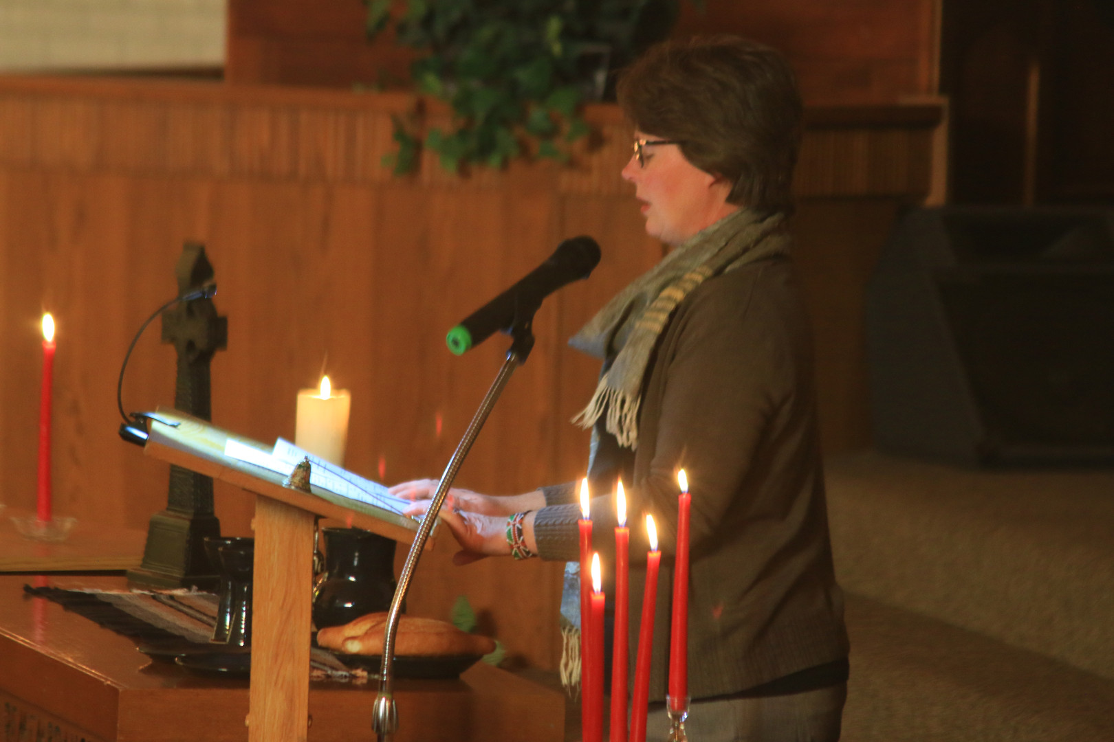 communion woman speaking.JPG