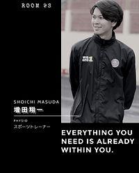 ROOM9S, 増田翔一, スポーツトレーナー, サッカー ,ファンクラブ ,コミュニティ, 日本代表
