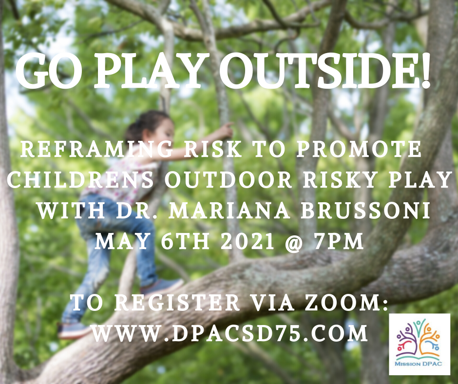 Reframing risk to promote childrensoutdo