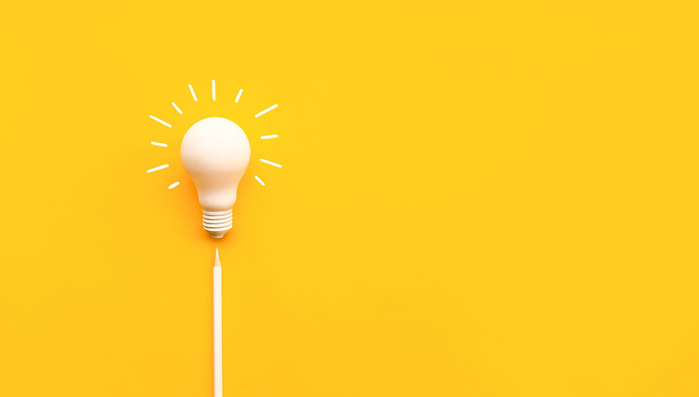 Business%20creativity%20and%20inspiration%20concepts%20with%20lightbulb%20and%20pencil%20on%20yellow