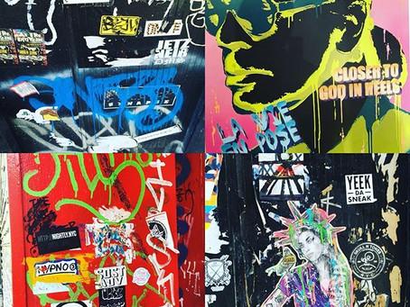 NYC Street Art inspiration.