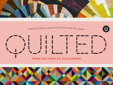 Quilted book and being in print!!! and how to get into print - my thoughts.