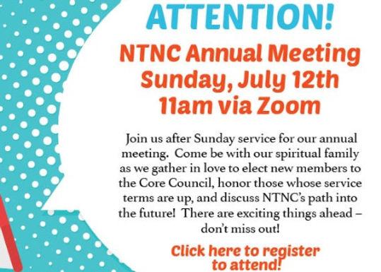 NTNC Annual Meeting
