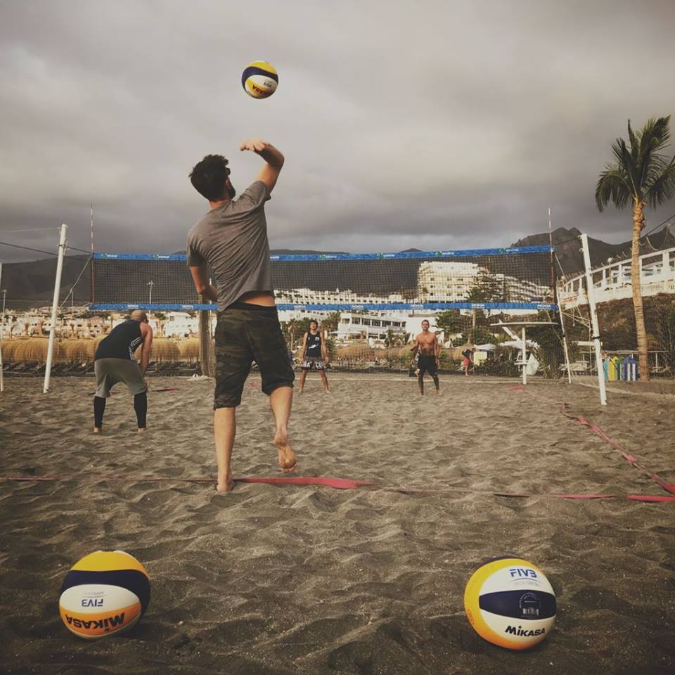 Tenerife Beach Volleyball Camp