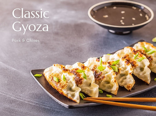 Classic Gyoza Kit | Pork & Chives