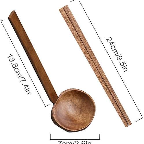 Ramen Wooden Soup Spoon