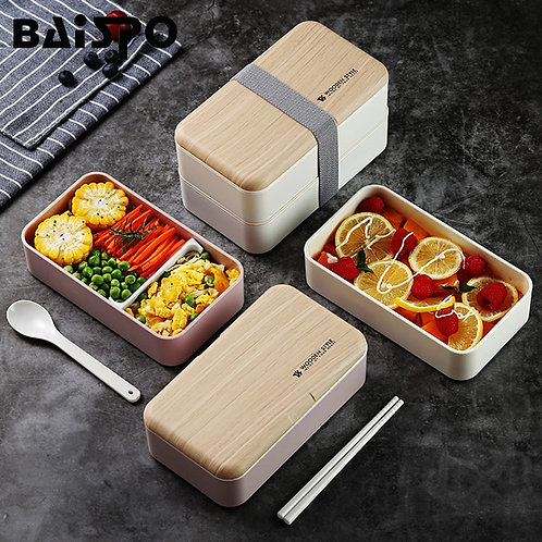 Double Layer  Microwave Bento