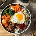 Korean Spicy Beef Rice Bowl | 韩式香辣牛肉盖饭