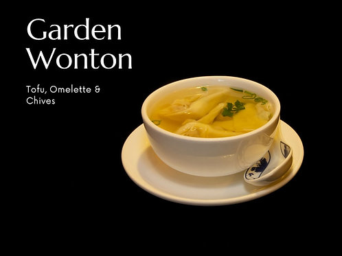Garden Won Ton Kit | Tofu & Chives
