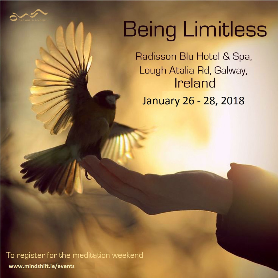 Event: Being Limitless; awaken to Wealth Consciousness