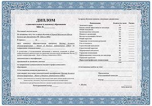 диплом MBA на русском языке