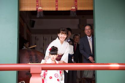 七五三@亀戸天神社
