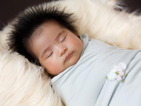2020年9月末までにご出産予定の方のニューボーンフォトご予約受付をスタートしました。