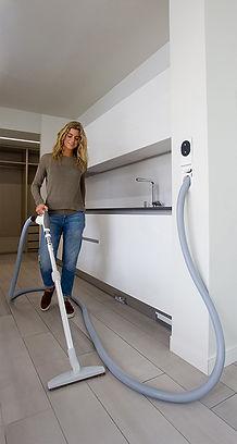 Hide a Hose Central Vacuum