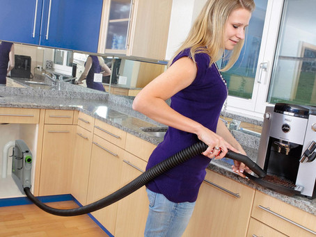 Air Vac Central Cleaning System in the UK