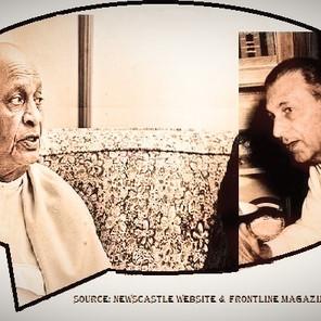 SardarVallabhbhai Patel (SVP) and JRD Tata (JRD) in imaginary conversation (1947)