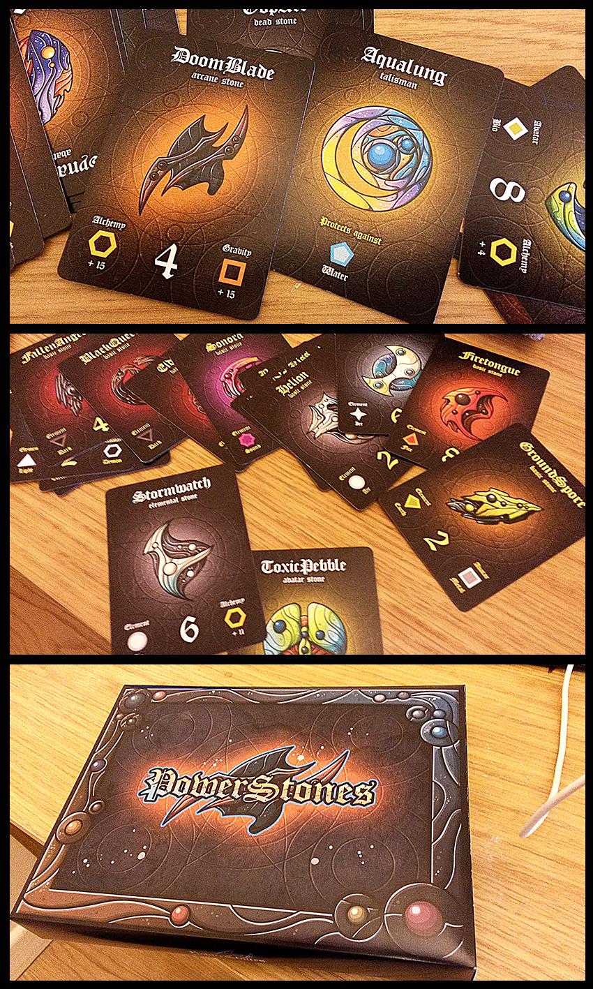 PowerStones Card Game