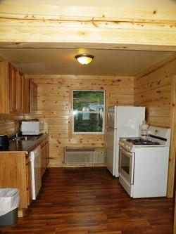 cabin 8 kitchen