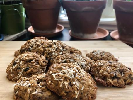 Chewy Oatmeal Raisin & Black Currant Cookies