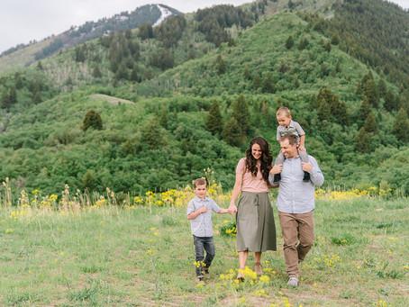 The Chistiansen Family - Logan, Utah Photographer