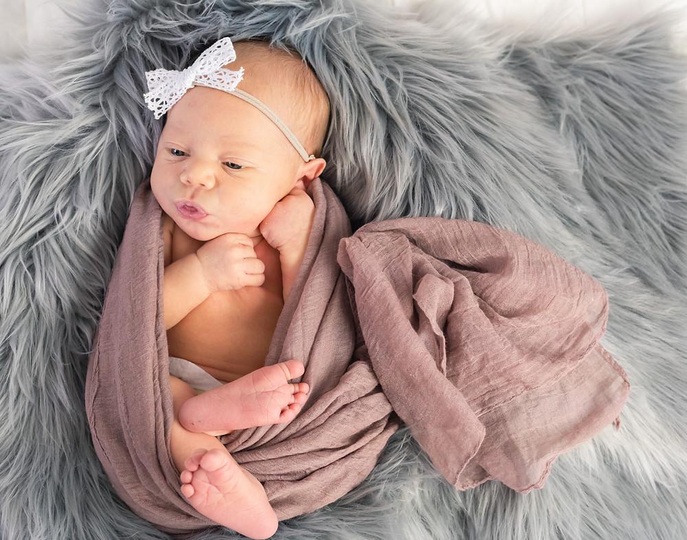 Newborn Baby Girl, Newborn Photography, Logan Utah Photographer