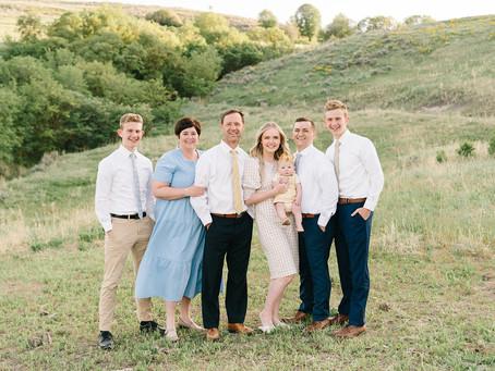 The Bangerter Family - Logan, Utah Photographer