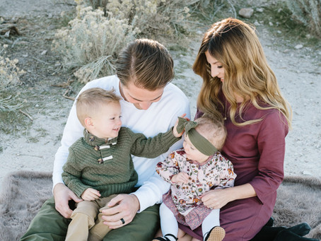 Connor Family - Antelope Island -Logan Utah Photographer