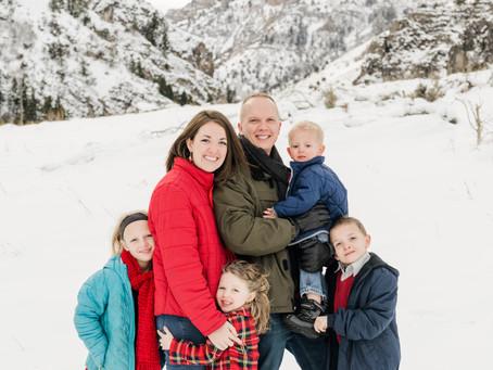 Bowen Family - Blacksmith Fork Canyon - Logan Utah Photographer
