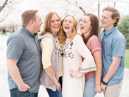 Prue Family Session - Utah State Capitol - Logan, Utah Photographer