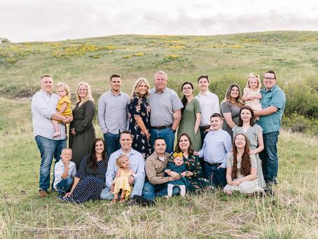 Jess Family Session - Logan, Utah Photographer