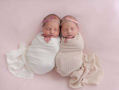 Capree and Jersee Newborn Session - Logan, Utah Photographer