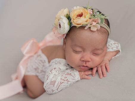 Gianna Newborn Session - Logan, Utah Photographer