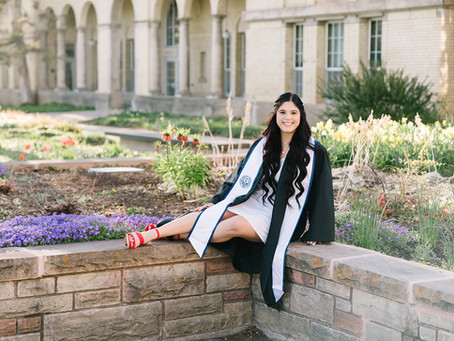 Raquel Fish Graduation - Logan, Utah Photographer