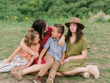 The Scotti Miller Family - Logan, Utah Photographer