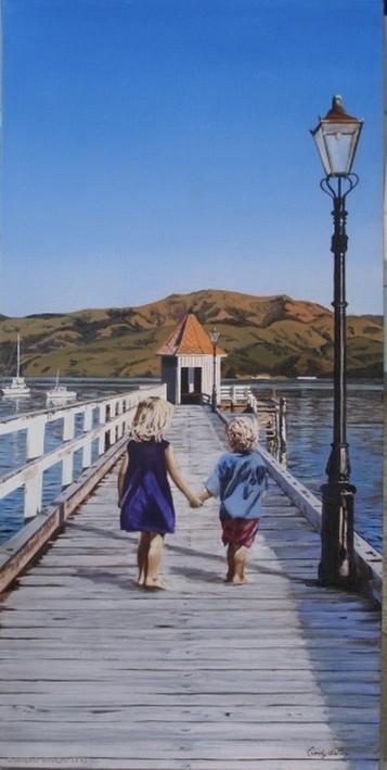 'Dalys Wharf' -print of original