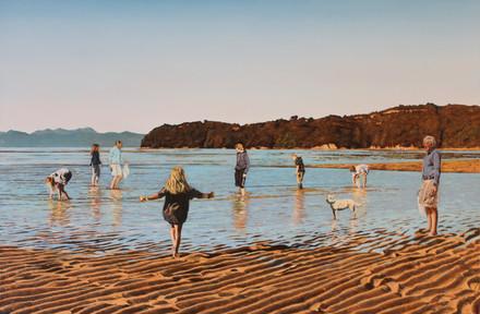'Marahau hunt for Shellfish'