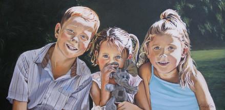 'Josiah,Esther and Hannah'