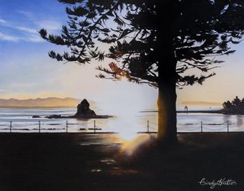 'Sundown' -print of original