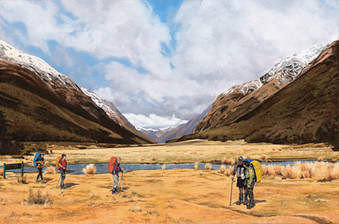 'Greenstone Valley'-SOLD Oil on Canvas