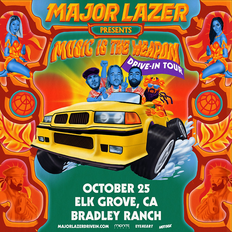 Major Lazer: Music Is The Weapon Drive-In Tour