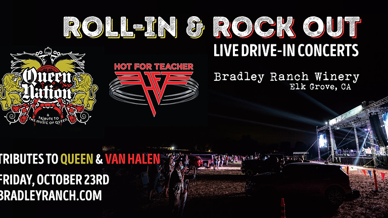 Roll-In and Rock Out - Tributes to Queen and Van Halen at Bradley Ranch