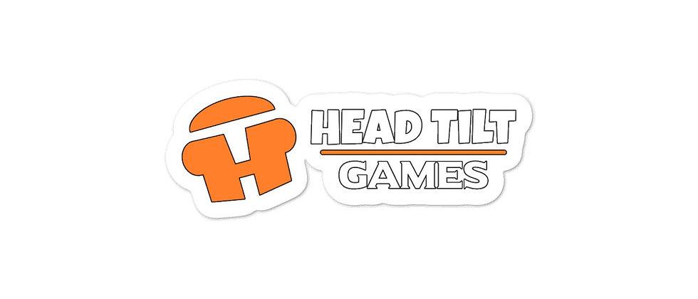 """""""Head Tilt Logo"""" - Bubble-free stickers"""
